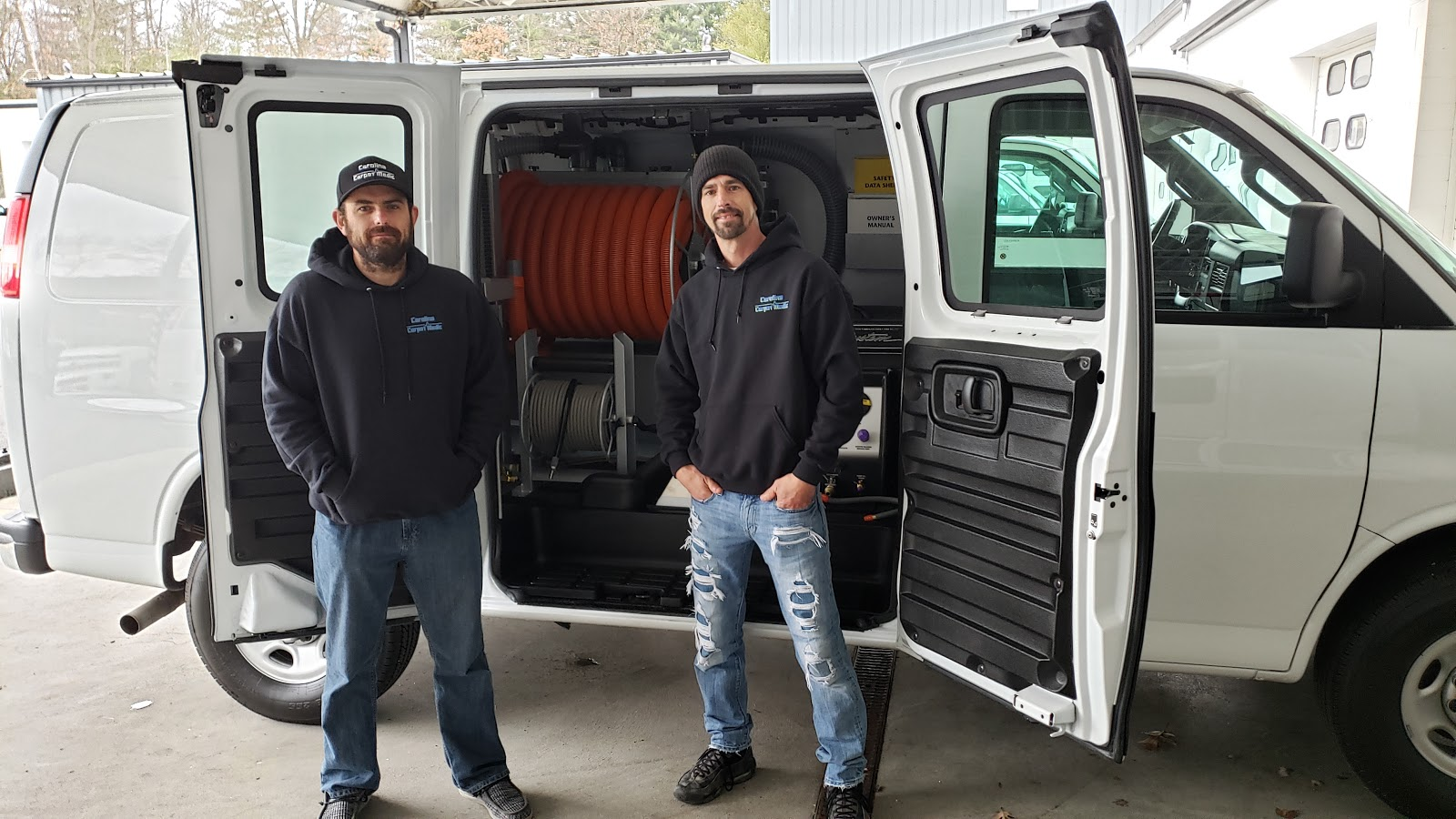 Carolina Carpet Medic Inc Nc Takes Delivery Of New Butler Truckmount The Butler Corporation