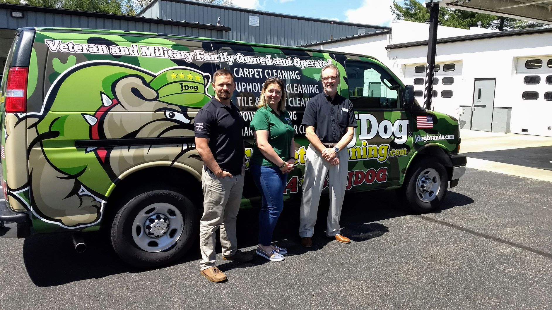 Butler Truckmount Selected By JDog Carpet Cleaning Franchise as Their Exclusive Carpet Cleaning Machine!
