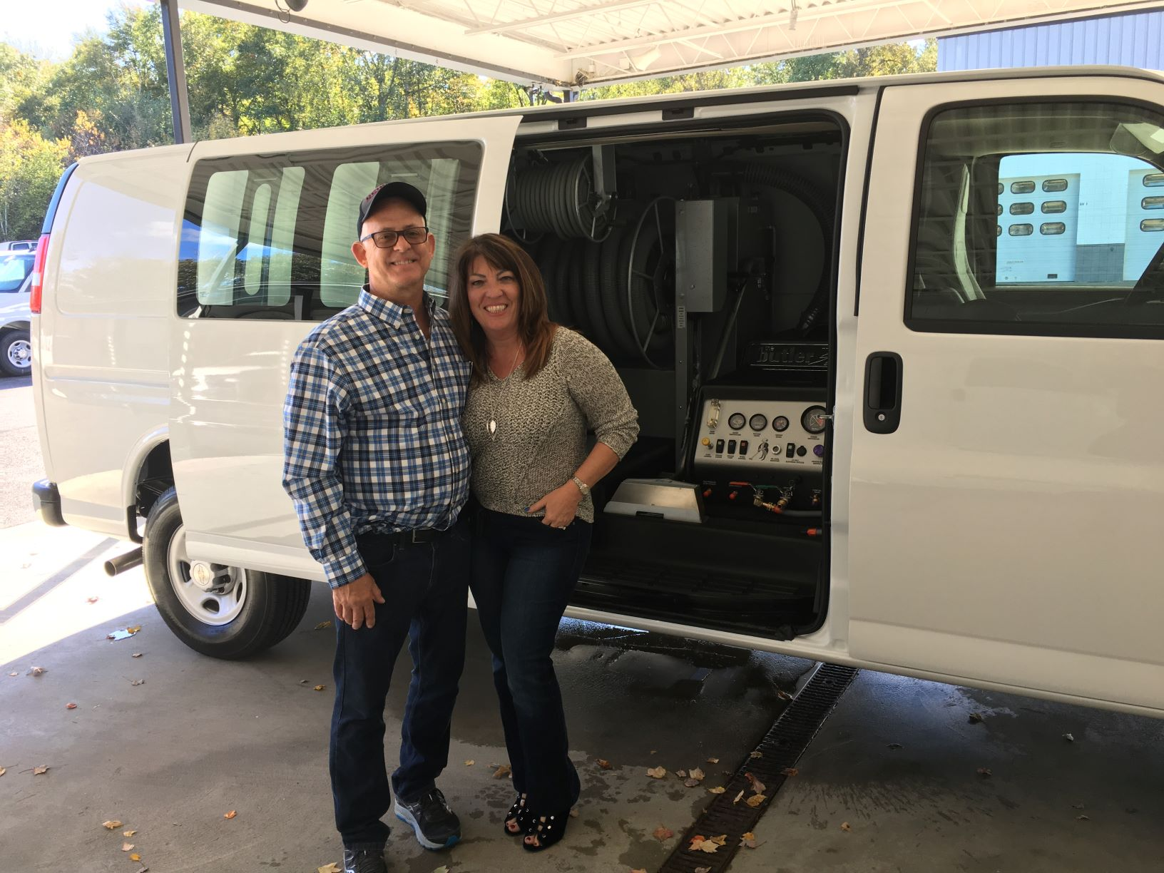 John and Marilee recently purchased and took delivery of their 7th Butler System Truckmount