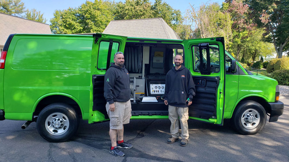 Servpro of Bath/ Brunswick, Topsham , Maine. Takes Delivery of New Butler System Truck Mount Machine!