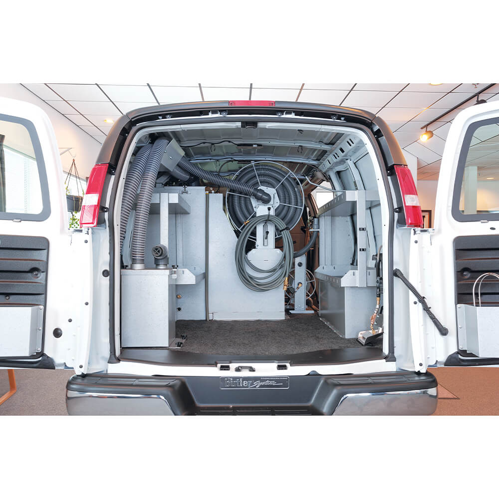 Butler In-Line Filter Recovery System in van