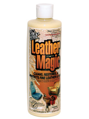 Leather Magic - Leather Cleaner - 16 fl. oz. Container