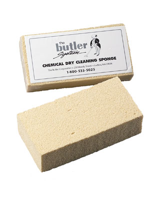 Dry Cleaning Sponges