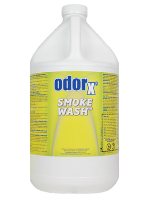 Smoke-Wash® - Upholstery and Carpet Pretreatment - 1 Gallon Container