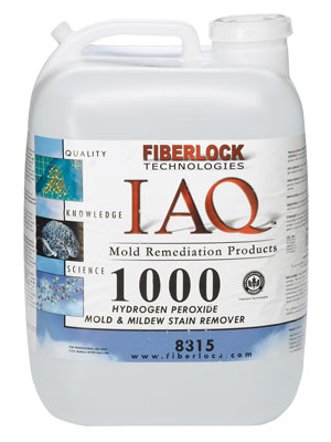 Fiberlock® IAQ 1000™ Cleaner, Hydrogen Peroxide (based)  5 Gallon Container