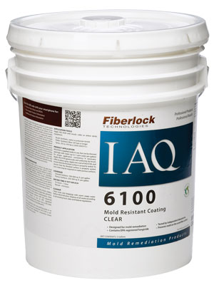 Fiberlock® IAQ 6100™ Mold-Resistant Coating  5 Gallon Container