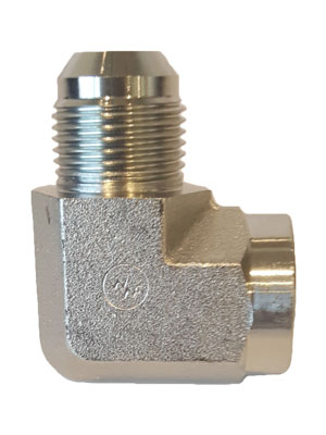 "3/4"" Female X 3/4"" JIC 90 Degree Elbow Connector"