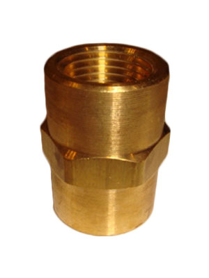 "1/8"" Brass Hose Barb  MPT X 1/4"" Hose Connector"