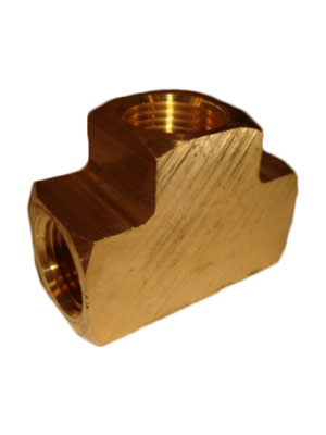 "1/2"" Brass ""T"" Connector"
