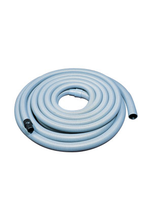 "Vacuum Leader Hose 25' length of 2"" & 25' length of 1-1/2"" Grey"