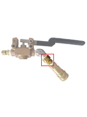 Wand Valve Filter Fitting Only